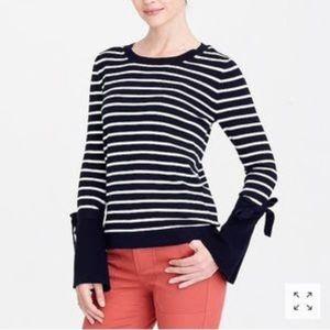 J. Crew striped sweater, S